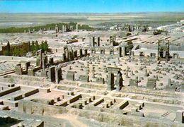 1 AK Iran * Blick über Persepolis Die Altpersischen Residenzstadt - Luftbildaufnahme - Seit 1979 UNESCO Weltkulturerbe * - Iran