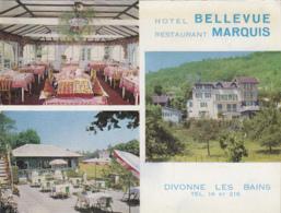 Divonne-les-Bains 01 - Hôtel Bellevue Restaurant Marquis - Divonne Les Bains
