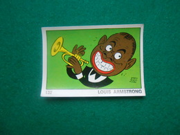 Panini  OK VIP 1973  Nr 132  Louis Armstrong - Edizione Italiana