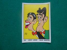 Panini  OK VIP 1973  Nr 125  Jerry Lewis - Dean Martin - Edizione Italiana