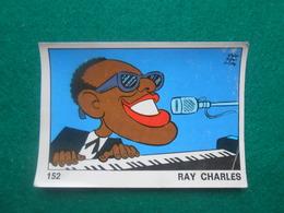 Panini  OK VIP 1973  Nr  152  Ray Charles - Edizione Italiana