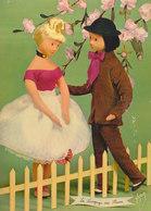 LES AMOUREUX DE PEYNET  N° 35 : Langage Des Fleurs : Pêcher ///   REF  JUILLET .19  //   N° 9149 - Peynet