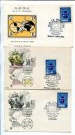 U.P.A.E. 50 ANIVERSARIO UNION POSTAL AMERICA Y ESPAÑA. ARGENTINA AÑO 1962 LOTE 6 TARJETAS FDC - LILHU - Filatelia & Monedas
