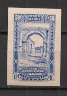 Algérie - 1930 - N°Yv. 93 - Centenaire 50c + 50c - Non Dentelé / Imperf. - Neuf Luxe ** / MNH / Postfrisch - Algeria (1924-1962)