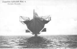 DIRIGEABLES Dirigible ( MILITARIA ) ZEPPELINS LUFTSCHIFF MOD. 4 : Intere Ansicht - CPA -Luftschiff Luchtschip Dirigibile - Dirigeables