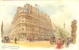 LONDON  Litho  Hotel Metropole  Around 1910 - Otros