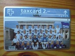 Phonecard Switzerland, Privat - Football, Hertha - Schweiz