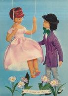 LES AMOUREUX DE PEYNET  N° 42 : Langage Des Fleurs  : Reine-marguerite  ///   REF  JUILLET .19  //   N° 9160 - Peynet