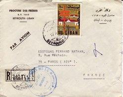 Liban - Enveloppe Beyrouth - Libanon