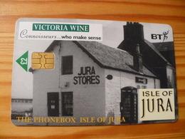 Phonecard United Kingdom BT - Victoria Wine - BT Promotionnelles