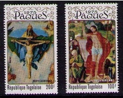 TOGO 1975 - PASCUA -PAQUES - EASTER - Yvert Nº A248-249** - Togo (1960-...)