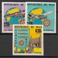 Mali - 1980 - PA N°Yv. 376 à 378 - Rotary - Non Dentelé / Imperf. - Neuf Luxe ** / MNH / Postfrisch - Rotary, Lions Club