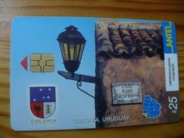 Phonecard Uruguay - Uruguay