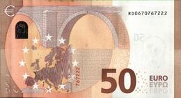 ! 50 Euro, RD0670767222, R030H1, Currency, Money, Geldschein, Banknote , Mario Draghi, EZB, ECB, Europäische Zentralbank - EURO