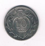 10 HELLER 1895  OOSTENRIJK /5478/ - Autriche