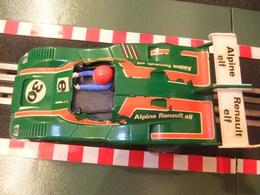 SCALEXTRIC Exin RENAULT ALPINE 2000 TURBO Verde 30 Ref.4053 Made In Spain - Circuitos Automóviles