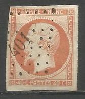 FRANCE - Oblitération Petits Chiffres LP 401 BITCHE (Moselle) - Marcofilie (losse Zegels)