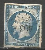 FRANCE - Oblitération Petits Chiffres LP 403 BLAMONT (Meurthe & Moselle) - 1849-1876: Periodo Classico