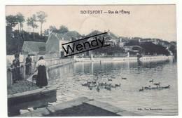 Boitsfort (vue De L'Etang Animée) - Watermael-Boitsfort - Watermaal-Bosvoorde
