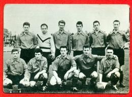 F.C. Sérésien (Seraing) - 1957-1958 - Afdeling III B Division - Fotochromo 7 X 5 Cm - Football