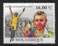 MOZAMBIQUE  N° 3467 * *  Cyclisme Davis - Cycling