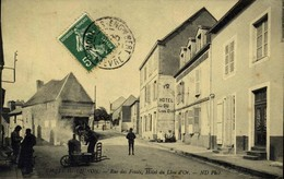 58  CHATEAU CHINON - Rue Des Fossés Hotel Du Lion D'Or  / A 490 - Chateau Chinon