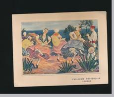 Carte Ouvrante Signée Homualk - Danses De Provence-académie Provençale Cannes-voir Museon Arlaien - Homualk