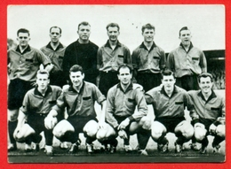 Daring C.B. (Bruxelles-Brussel) - 1957-1958 - Afdeling I Division - Fotochromo 7 X 5 Cm - Football