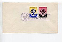 AÑO MUNDIAL DE LOS REFUGIADOS, COSTA RICA AÑO 1960 SOBRE PRIMER DIA ENVELOPE FDC - LILHU - Otros