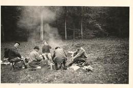 71  AVAISE - Forêt D'Avaise - CHASSE -  Les Triages - 8 Novembre 1964 -  Pause Pour Le Repas - - Autres