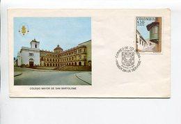 COLEGIO MAYOR DE SAN BARTOLOME. COLOMBIA AÑO 1978 SOBRE PRIMER DIA ENVELOPE FDC - LILHU - Otros