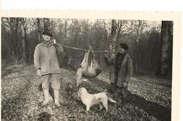 71  AVAISE - Forêt D'Avaise - CHASSE -  Au Chêne Du Marquis - 4 Décembre 1960 -  Une Belle Prise  - - Autres