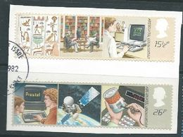 GROSSBRITANNIEN GRANDE BRETAGNE GB 1982 TECHNOLOGY SET OF 2V USED SG 1196-7 SC 1000-01 MI 927-28 YT 1056-1057 - 1952-.... (Elisabeth II.)