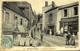 58 CERCY LA TOUR - La Rue Du Commerce  / A 490 - Other Municipalities