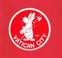1 Autocollant VATICAN CITY 1972 - Autocollants