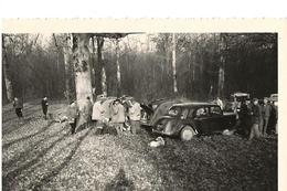 71  AVAISE - Forêt D'Avaise - CHASSE -  Au Chêne Du Marquis - 4 Décembre 1960 -  L'heure Du Déjeûner  - - Autres