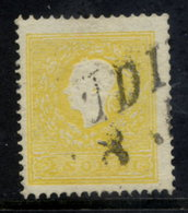AUSTRIA: LOMBARDY VENETIA 1858 2 Soldi Type II  Used.  Michel 6 II - 1850-1918 Empire