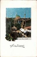 ! Alte Ansichtskarte Aus Constantinople, Istanbul, Türkei, 1898 - Turchia