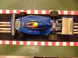 SCALEXTRIC Exin FERRARI B 3 F 1 Azul Nº 20 Ref.4052 Made In Spain - Circuitos Automóviles
