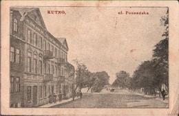! Alte Ansichtskarte Polen Kutno, Ul. Poznanska, 1915 - Polonia