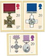 Royal Mail Stamps Cards Cross Kruis Postzegel UK (3 Stuks/pcs) - Autres