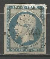 FRANCE - Oblitération Petits Chiffres LP 440 BORAN (Oise) - Marcofilie (losse Zegels)