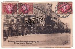 Warschau (Warschau Unter Deutscher Besetzung 1915) - Pologne