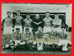 La Forestoise - 1957-1958 - Afd. A 3 Division - Fotochromo 7 X 5 Cm - Voetbal