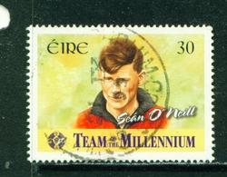 IRELAND  -  2000 Team Of The Millennium 30p Used As Scan - 1949-... Republic Of Ireland