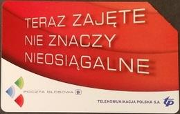Telefonkarte Polen - Werbung - Voicemail - Poland