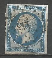 FRANCE - Oblitération Petits Chiffres LP 445 BOUCHAIN (Nord) - Marcophilie (Timbres Détachés)