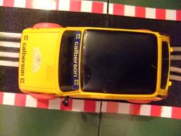 SCALEXTRIC Exin RENAULT R 5 CALBERSON N 24 Ref.4058 Made In Spain - Circuitos Automóviles