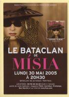 LE BATACLAN DE MISIA / Bataclan / 2005 / Musique Et Musiciens - Musique Et Musiciens