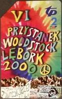 Telefonkarte Polen - Lebork - Musikfestival - Poland